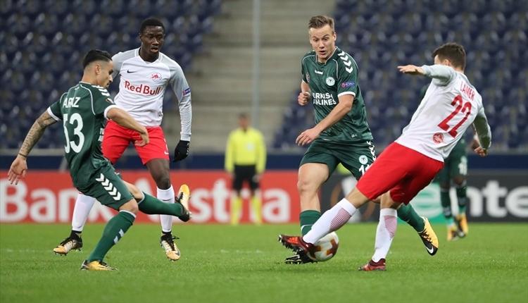 Konyaspor'un Salzburg maçı kulüp tarihine geçti