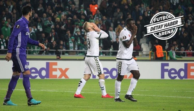 Konyaspor'un son dakika kabusu