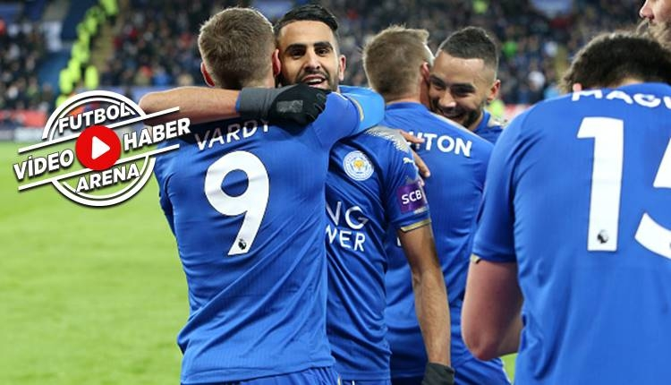 Leicester City 2-1 Tottenham Hotspur maçı özeti ve golleri (İZLE)