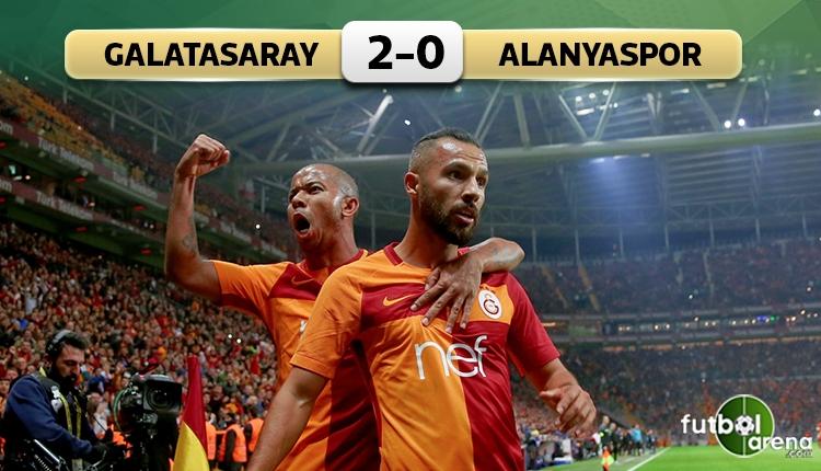 Galatasaray 2-0 Alanyaspor maç özeti ve golleri (İZLE)