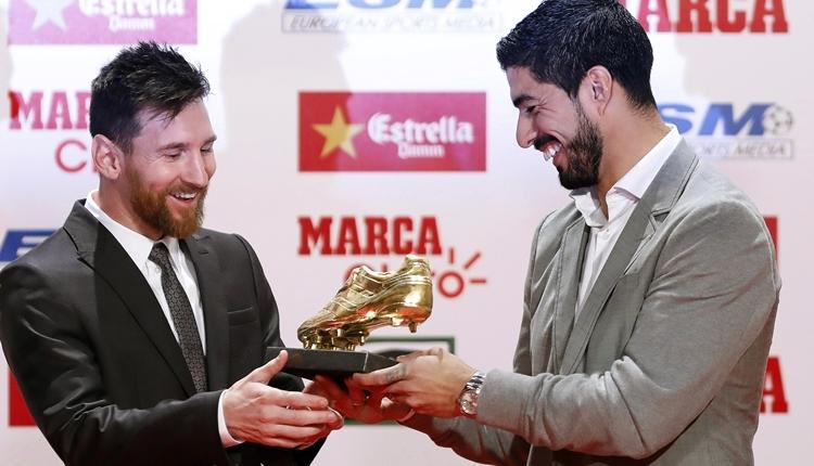 Lionel Messi, Altın Ayakkabı Ödülü'ne kavuştu