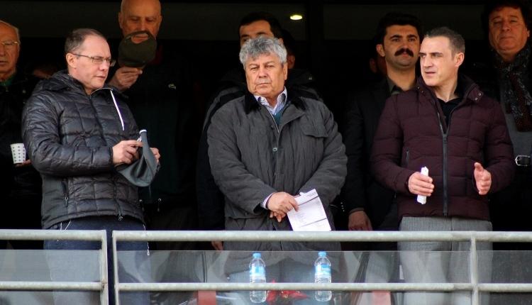 Lucescu, İstanbulspor - Samsunspor maçını takip etti