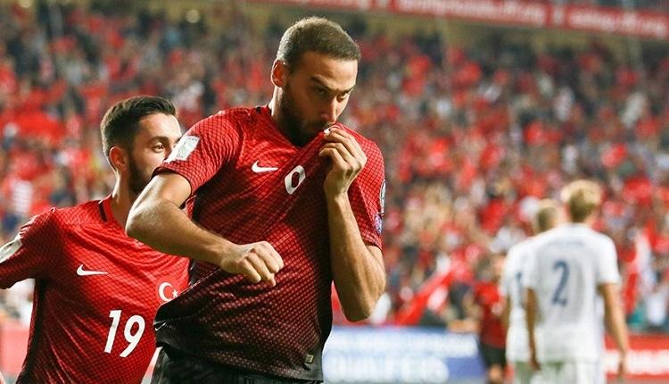 Lucescu'ya Cenk Tosun tepkisi! 'Arnavutluk maçında...'