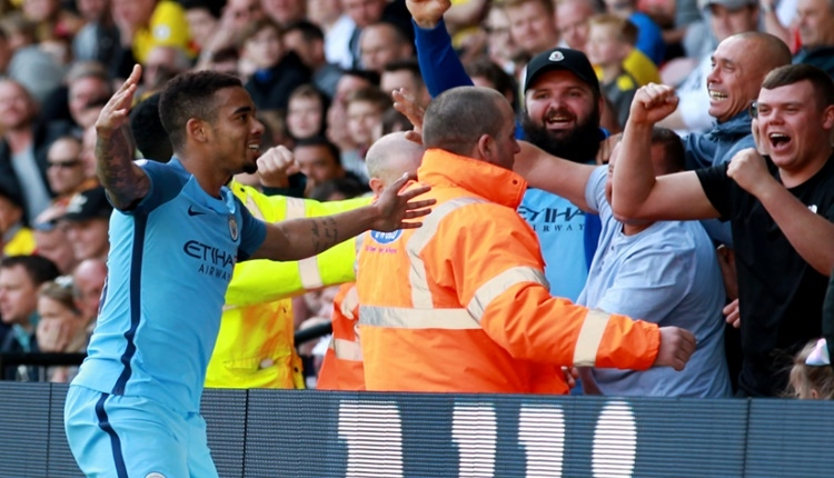 Manchester City'de Gabriel Jesus'un müthiş performansı