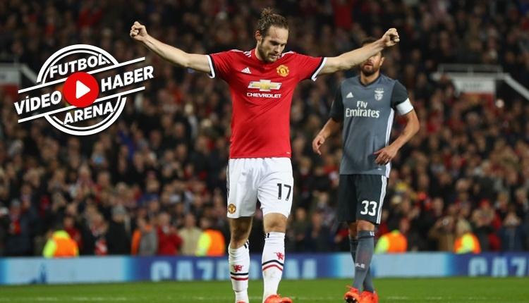 Manchester United 2-0 Benfica maçı özeti ve golleri (İZLE)
