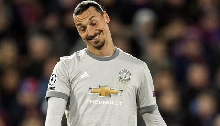 Manchester United'da Zlatan Ibrahimovic tarihe geçti