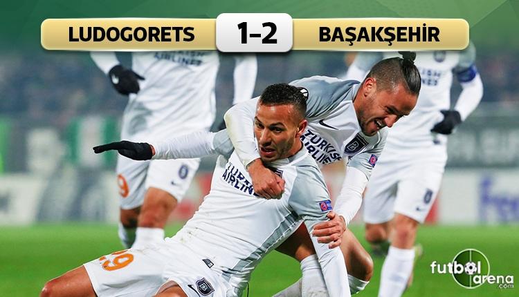 Ludogorets 1-2 Medipol Başakşehir maç özeti ve golleri (İZLE)