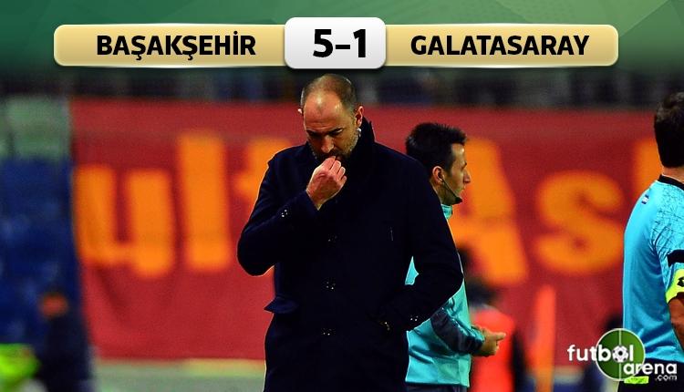 Medipol Başakşehir 5-1 Galatasaray maç özeti ve golleri (İZLE)