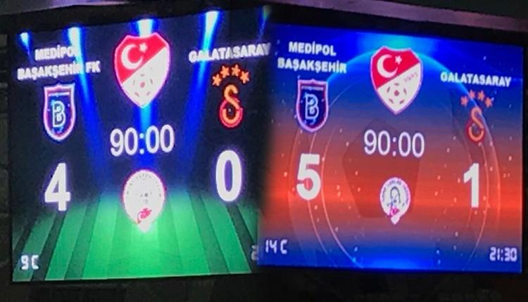 Medipol Başakşehir'den maç sonu Galatasaray'a gönderme