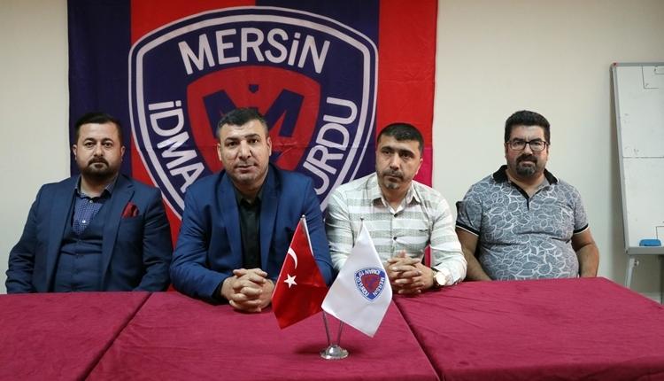 Mersin İdmanyurdu Başkanı Mahmut Karak istifa etti