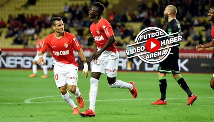Monaco 6-0 Guingamp maçı özeti ve golleri (İZLE)