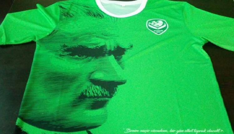 Mustafa Kemal Atatürk'ün anısına Amatör Lig'de özel forma