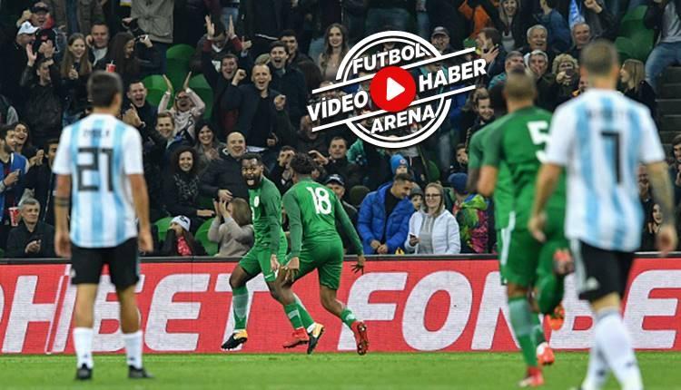 Nijerya 4-2 Arjantin maçı özeti ve golleri (İZLE)