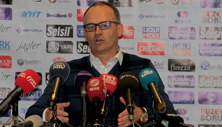 Osmanlıspor'da İrfan Buz'dan Fenerbahçe'ye gönderme