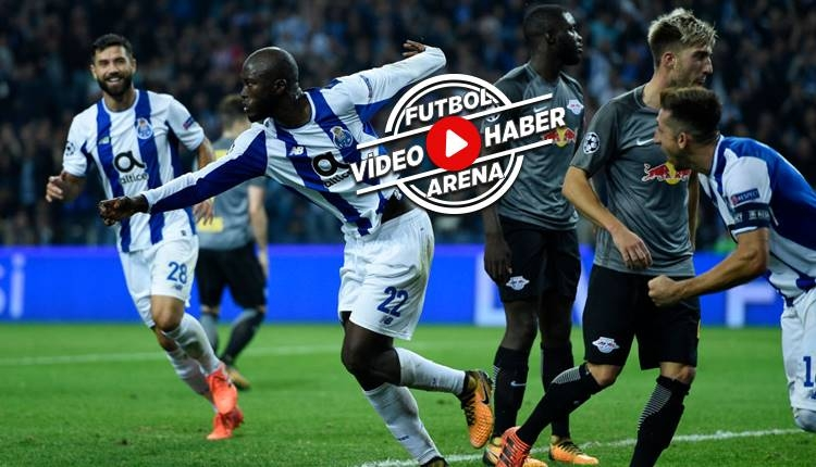 Porto 3-1 RB Leipzig maçı özeti ve golleri (İZLE)