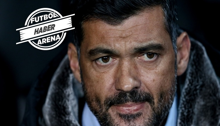 Porto Teknik Direktörü Sergio Conceiaço: 'Beşiktaş'a karşı kolay değil.'