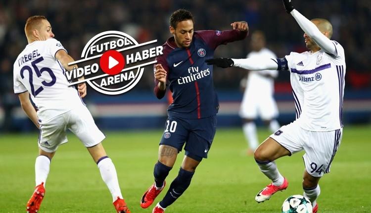 PSG 5-0 Anderlecht maçı özeti ve golleri (İZLE)