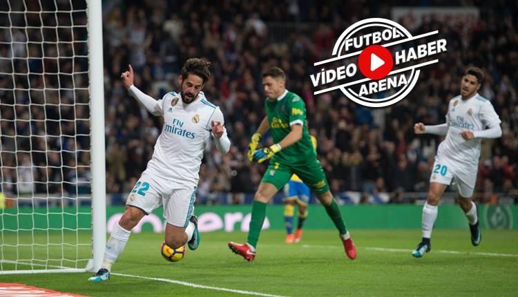 Real Madrid 3-0 Las Palmas maçı özeti ve golleri (İZLE)