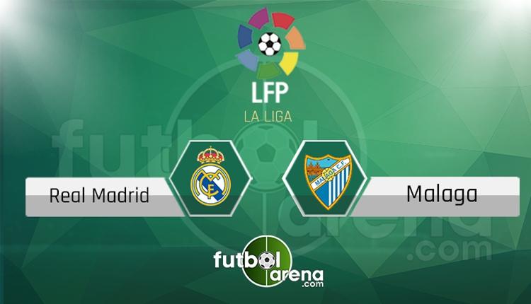 Real Madrid - Malaga saat kaçta, hangi kanalda? (İddaa Canlı Skor)