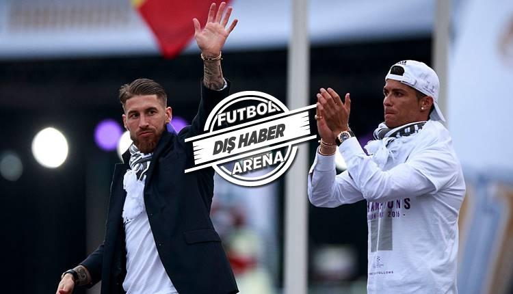 Real Madrid'te liderler savaşı! Ronaldo ve Sergio Ramos arasında kriz...