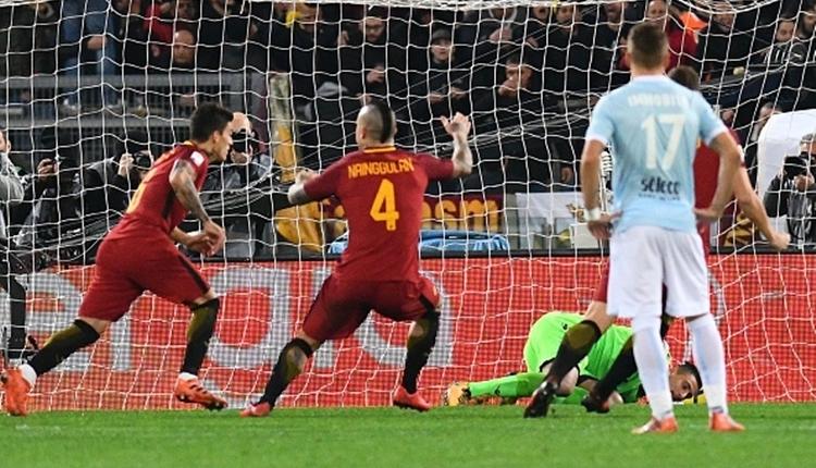 Roma 2-1 Lazio maç özeti ve golleri (İZLE)