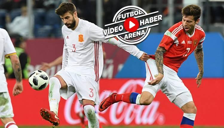 Rusya 3-3 İspanya maçı özeti ve golleri (İZLE)