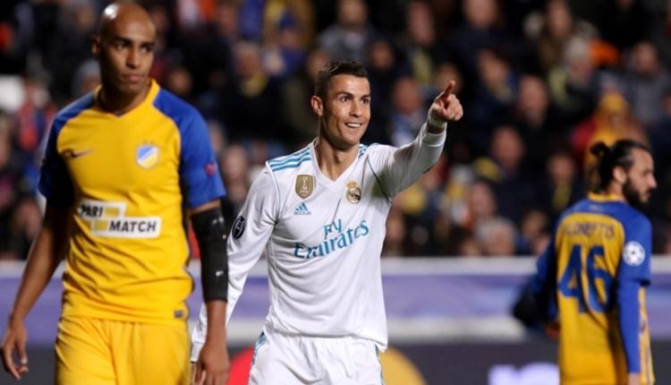Şampiyonlar Ligi'nin en iyisi Cristiano Ronaldo