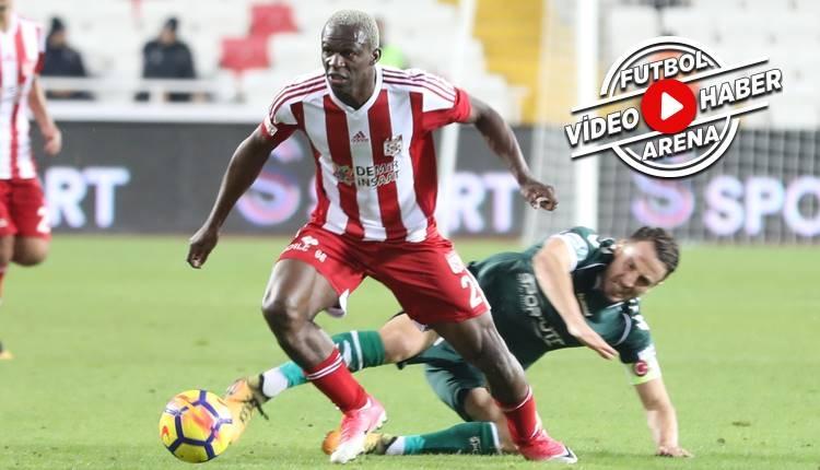 Sivasspor 2-1 Konyaspor maçı özeti ve golleri (İZLE)
