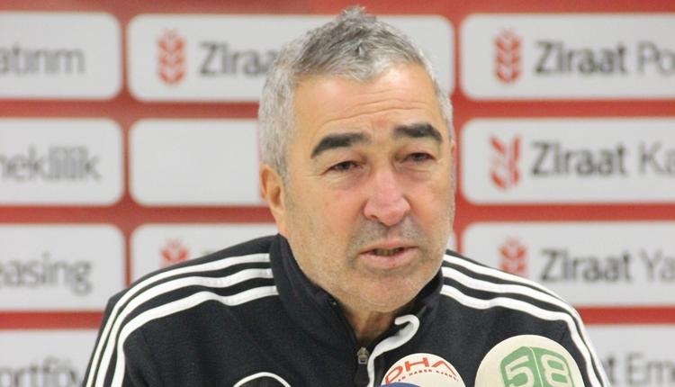 Sivasspor'da Samet Aybaba'dan futbolcularına uyarı! 'Başaramadık'