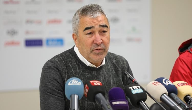 Sivasspor'da Samet Aybaba'dan galibiyet sözleri