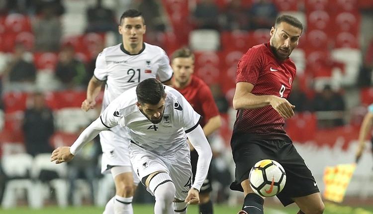 TFF'den Arnavutluk maçının skoruna sansür