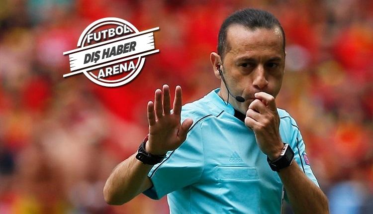 Tottenham - Real Madrid maçında Cüneyt Çakır ve yardımcılarına tepki!