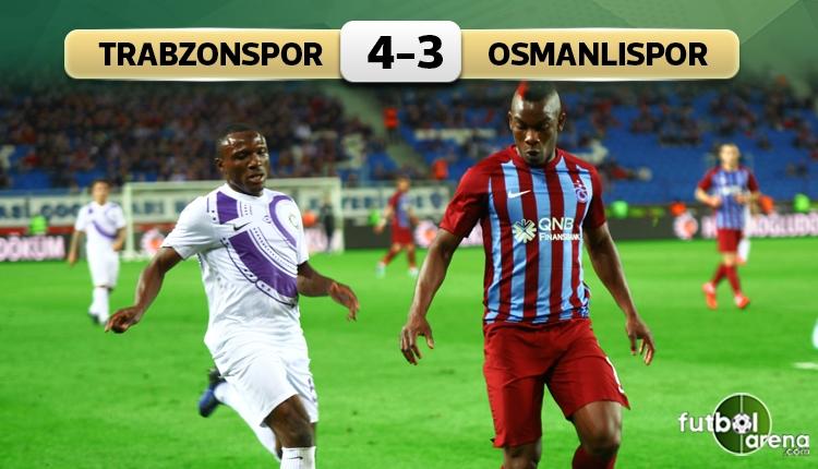 Trabzon'da 7 gollü müthiş maç!