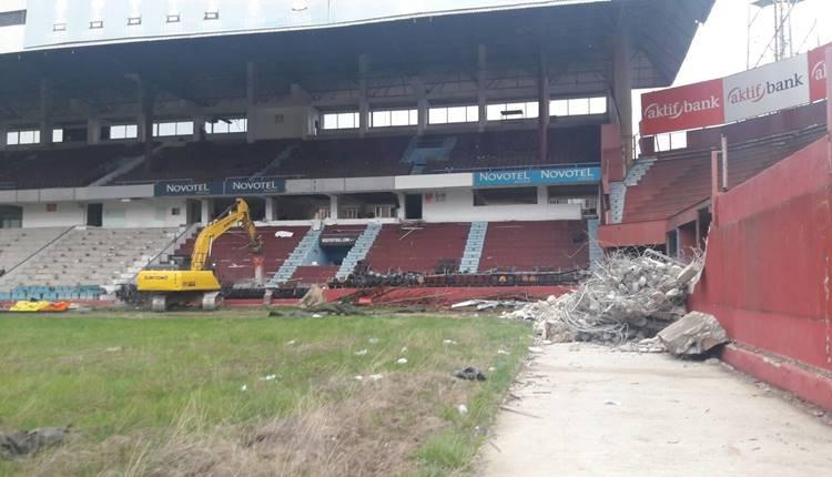 Trabzonspor, Hüseyin Avni Aker Stadyumu yıkılıyor!