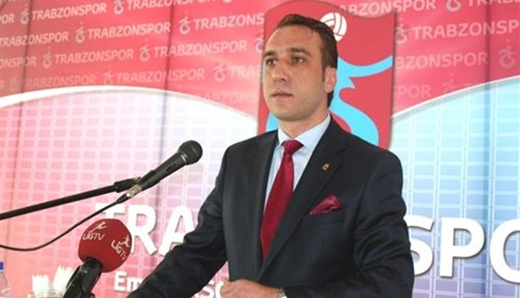 Trabzonspor yöneticisi Emre Aksoy resmen istifa etti
