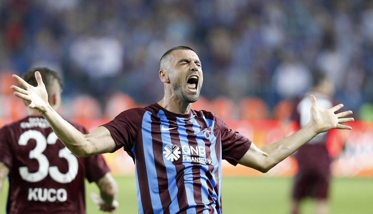 Trabzonspor'da Burak Yılmaz gollerine devam ediyor