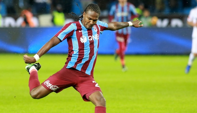 Trabzonspor'da Hugo Rodellega'nın cezası indirildi