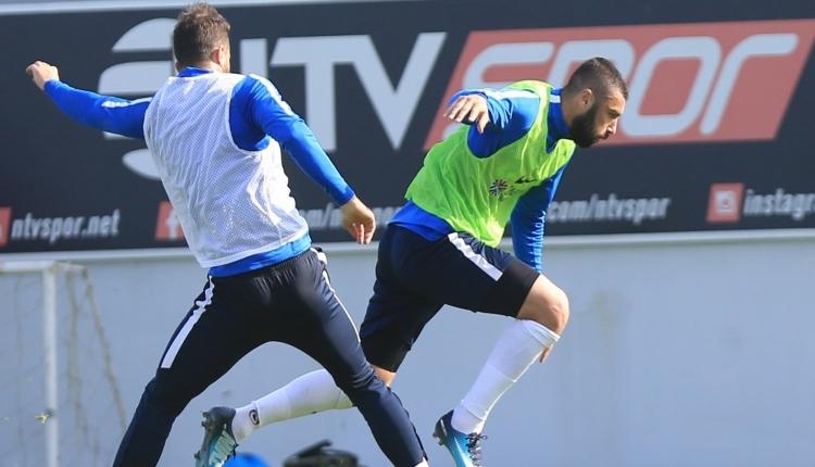 Trabzonspor'da Onazi ve Burak Yılmaz sevinci