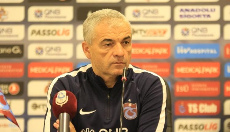 Trabzonspor'da Rıza Çalımbay: ''Rahatsız olduğum birkaç konu..''