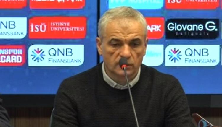 Trabzonspor'da Rıza Çalımbay'dan maç sonu itiraf! 'Geldiğimden beri...'