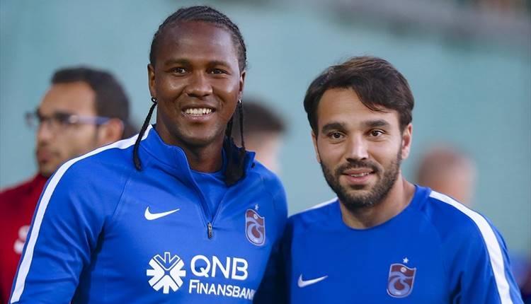 Trabzonspor'da Volkan Şen ve Hugo Rodallega barıştı!