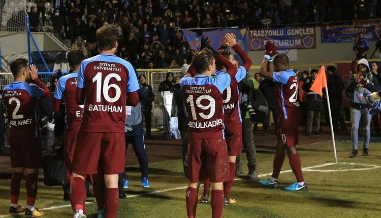 Trabzonspor'dan Erzurumspor'a jest