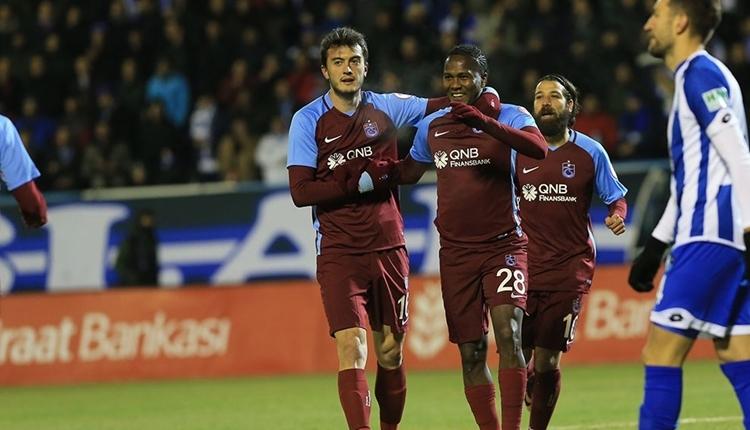 Trabzonsporlu Hugo Rodallega, Türkiye Kupası'na damga vurdu