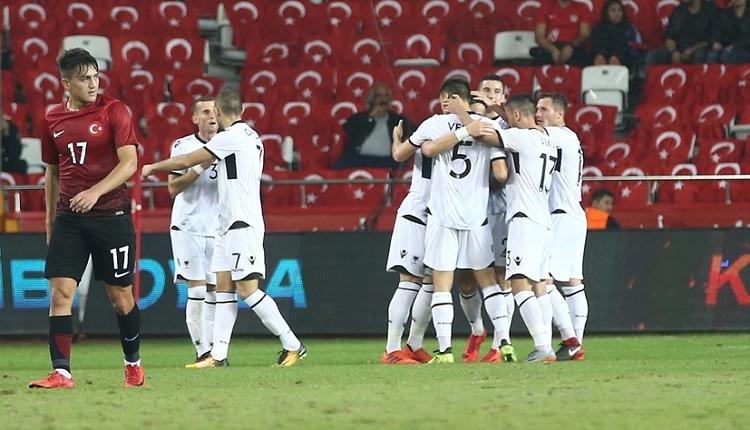 Türkiye - Arnavutluk vahim tablo! San Marino'dan sonra...