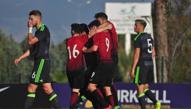 Türkiye U19 2-1 Galler U19 maçı özeti ve golleri