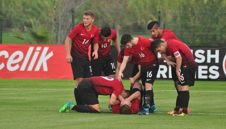 Türkiye U-19 Milli Takımı, Slovakya'ya yenildi