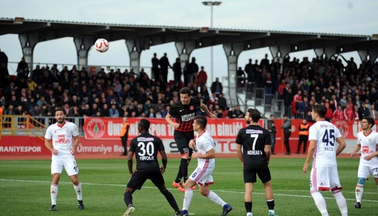 Ümraniyespor 2-0 Altınordu maçın özeti ve golleri (İZLE)