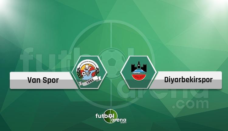 Van BBSK - Diyarbekirspor maçı canlı ve şifresiz İZLE