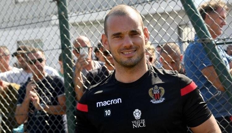 Nice takımında Wesley Sneijder sakatlandı