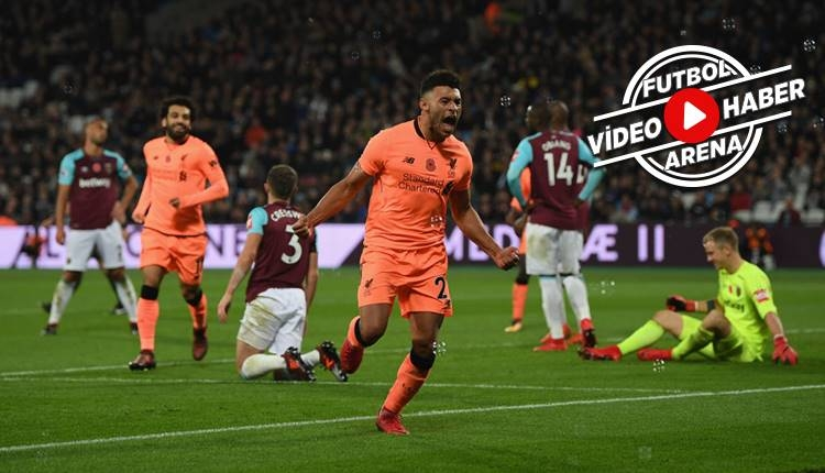 West Ham 1-4 Liverpool maçı özeti ve golleri (İZLE)